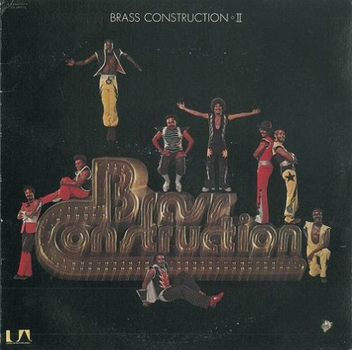 BRASS CONSTRUCTION Brass Construction II Vinyl Record LP US United Artists 1976